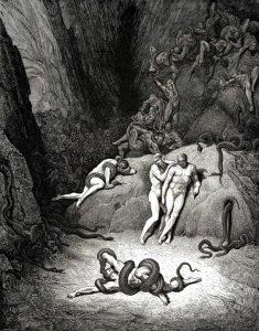 Gustave Doré - Canto XXV Inferno